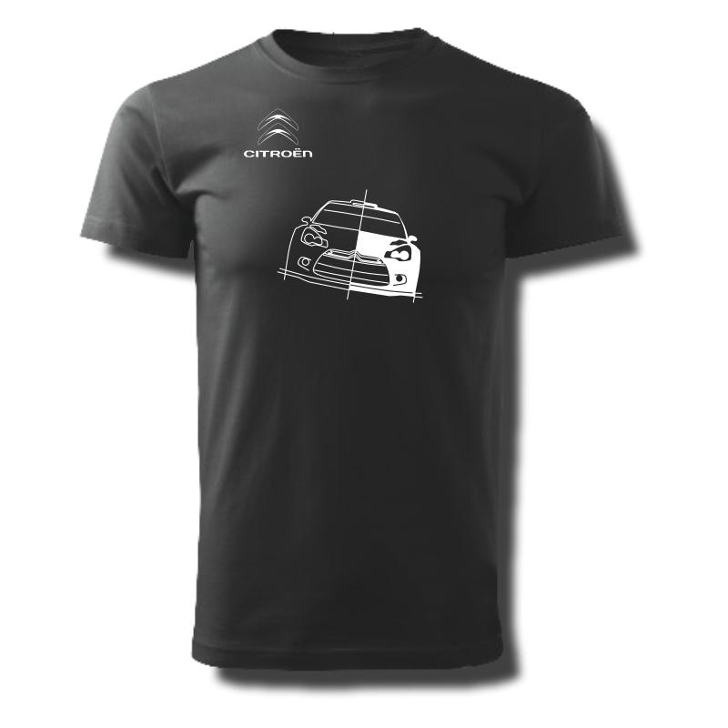 Tričko pánské s potiskem WRC CITROËN DS3