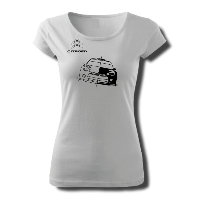 Tričko dámské s potiskem WRC CITROËN DS3