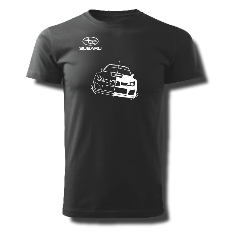 Tričko pánské s potiskem WRC SUBARU