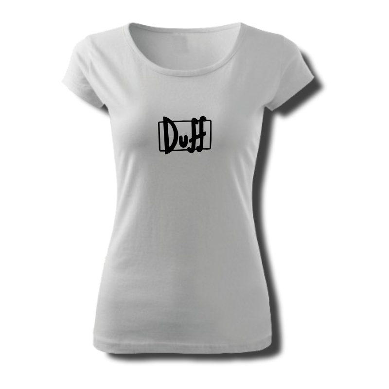 Tričko dámské s potiskem DUFF