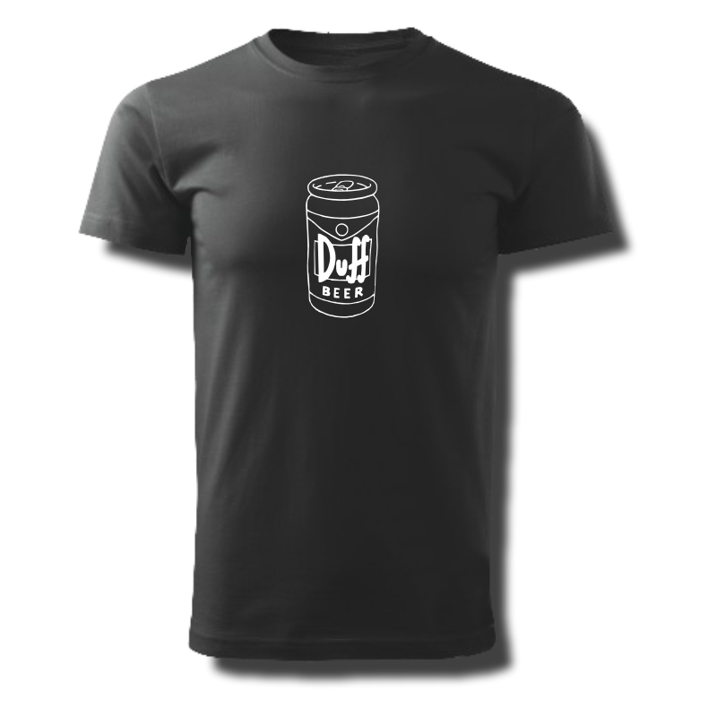 Tričko pánské s potiskem DUFF