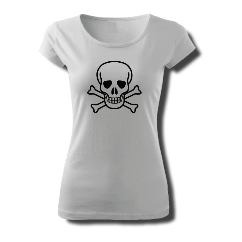 Tričko dámské s potiskem LEBKA