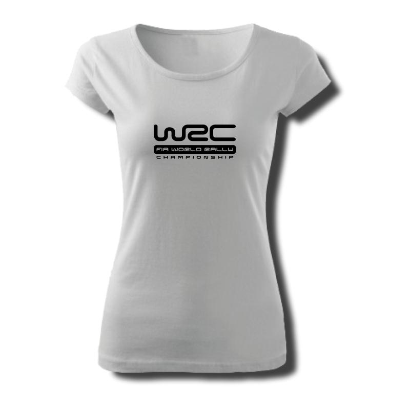 Tričko dámské s potiskem WRC SPEED, CONTROL PASSION